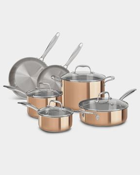 Εικόνα της Tri-Ply Copper Kitchen Set