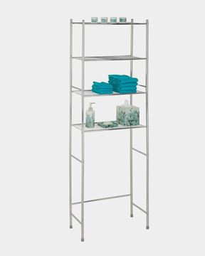 Picture of 4-Tier Bathroom Shelf