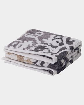 Εικόνα της Printed Gray Bath Towel