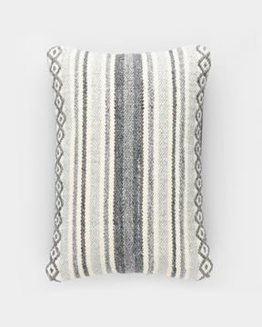 Picture of Gray Diamond Lumbar Pillow